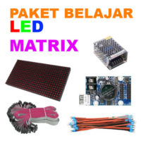 PAKET BELAJAR LED MATRIX