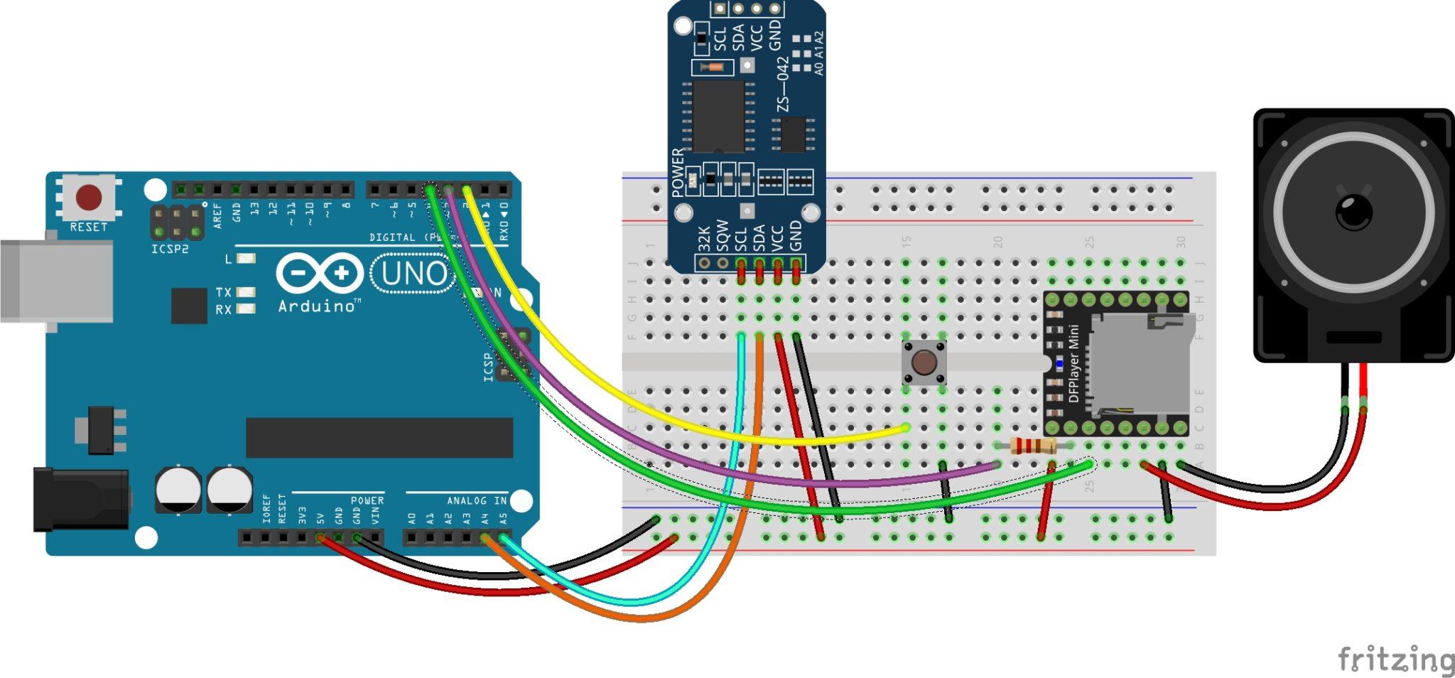 Membuat jam digital berbicara duwi arsana
